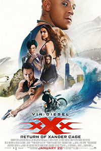 XXX: The Return of Xander Cage Poster