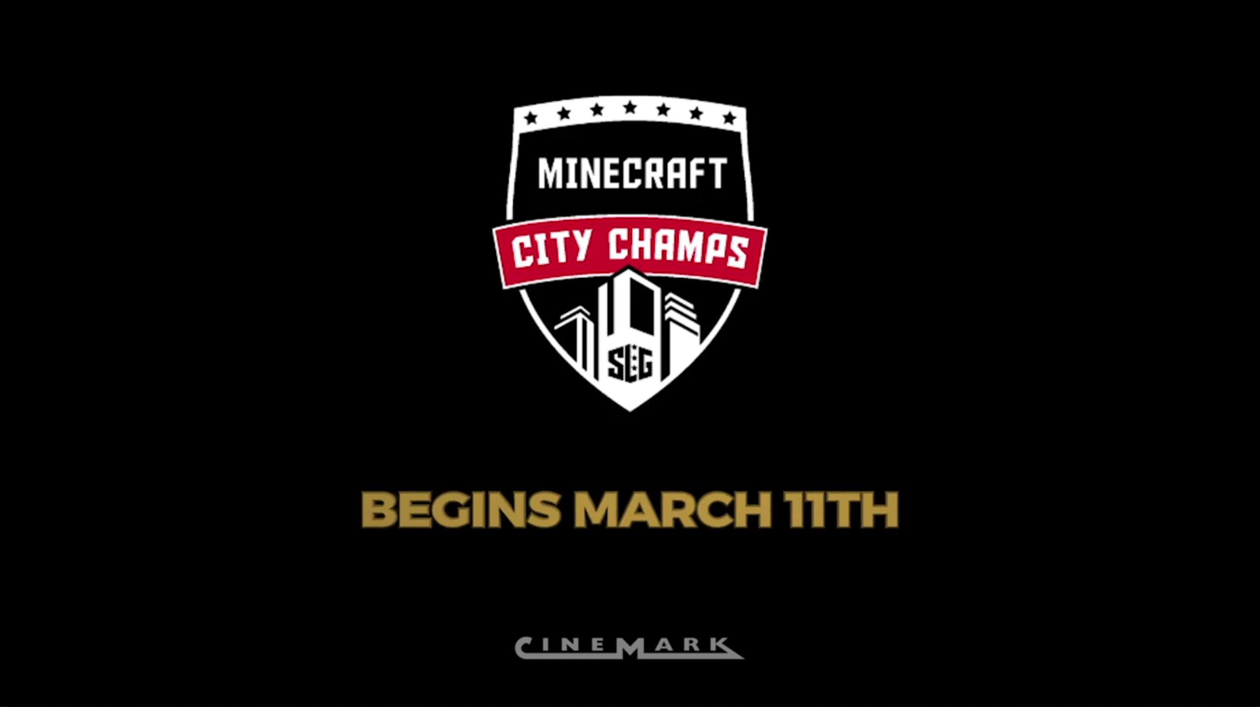 Play Minecraft on the Big Screen at Cinemark!