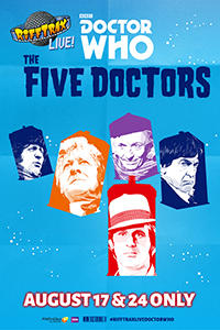 RiffTrax Live: Doctor Who - The Five Doctors Poster