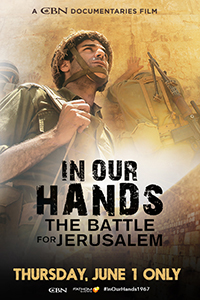 In Our Hands: Battle for Jerusalem Poster