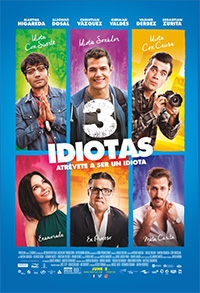 3 Idiotas (Spanish with English subtitles) Poster