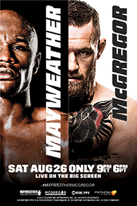 Mayweather vs. McGregor Poster