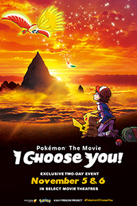 Pokemon The Movie: I Choose You! (Dubbed in English) Poster