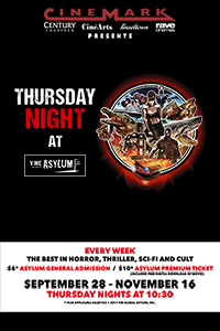 Thursday Night at The Asylum Poster