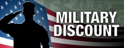 Banner image for Military Discount