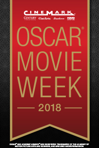 Cinemark Oscar Movie Week 2018 Poster