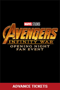 Opening Night Fan Event Avengers: Infinity War Poster