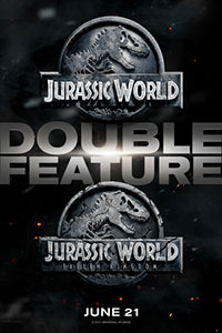 Jurassic World Double Feature Poster