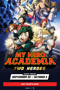 My Hero Academia: Two Heroes (English Dubbed) Poster