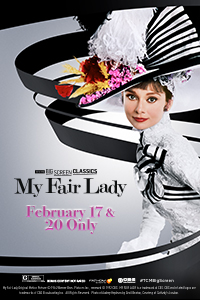 My Fair Lady 55th Anniversary (1964) presented by TCM Poster