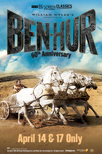 Ben-Hur 60th Anniversary (1959) presented by TCM Poster