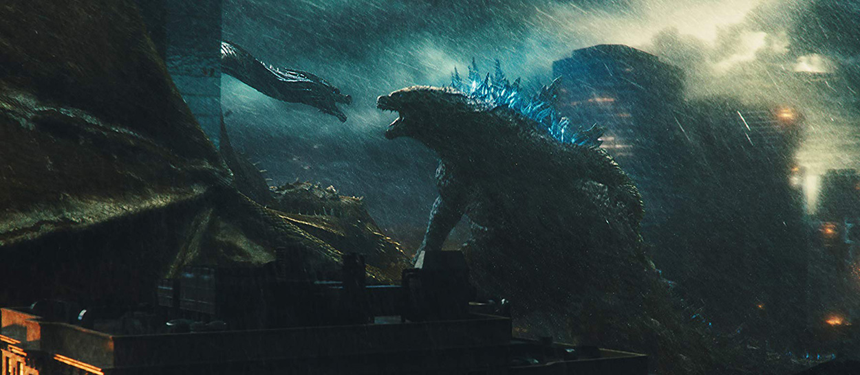 Godzilla battles Ghidorah in King of the Monsters