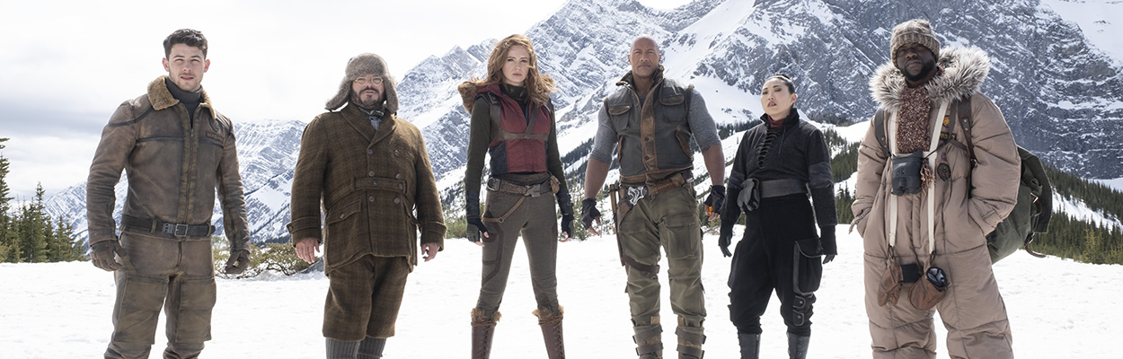 Jumanji: The Next Level Cast Talks Swapping Roles and New Challenges
