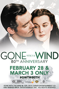Gone With the Wind 80th Anniversary Poster