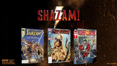 Shazam! DC Comic Book Bundle Gift with Purchase