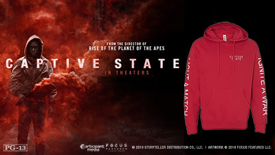 Captive State Hoodie - SIZE NOT GUARANTEED