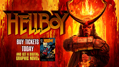 Hellboy Gift w/ Purch Dig Graphic Novel Download